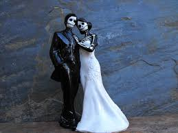 day of the dead wedding cake topper day of the dead wedding cake topper with no veil 6 inches