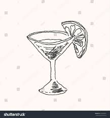 margarita animated drawn glass margarita pencil and in color drawn glass margarita