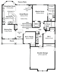 one story log cabin floor plans simple one story open floor plan rectangular search open