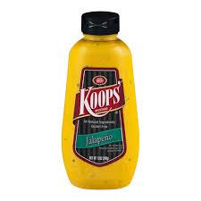 koops mustard koops mustard jalapeno 12 oz my brands