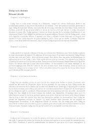 la chambre des officiers résumé par chapitre resumé detaillé et analyse de zadig voltaire docsity