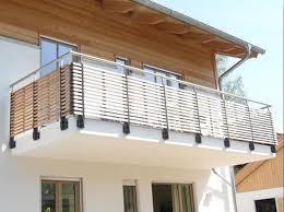 franzã sischer balkon edelstahl die besten 25 deck geländer ideen auf außentreppen