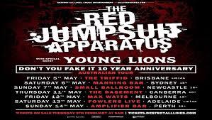 jumpsuit apparatus tour the jumpsuit apparatus announce australian tour destroy all