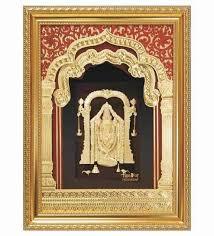lord venkateswara photo frames with lights and music buy finedor 24k gold leaf frames lord balaji golden fancy frame