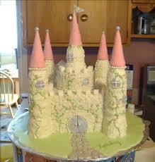 buttercream castle cake cakecentral
