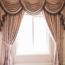 Cheap Curtains And Valances Luxury Swags And Tails Valance Curtain Drapes