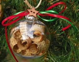 book ornament etsy