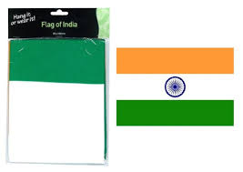 Indian Flag Standard Size Art Fun Wear