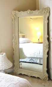 Oversized Bedroom Furniture Furniture Vintage White Oversized Mirrors For Charming Bedroom