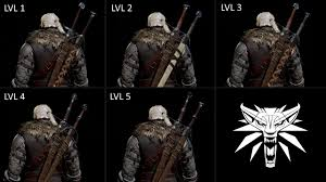 promotional and trailers wolf swords at the witcher 3 nexus mods
