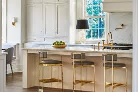 grey kitchen bar stools cream and gray kitchen with gold and gray bar stools transitional