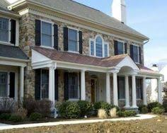 front porches on colonial homes updating a dated colonial exterior colonial exterior colonial
