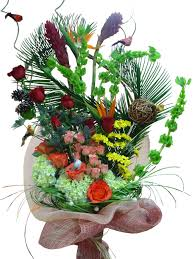 flowers arrangement tropical splendor flower arrangement event flowers ny