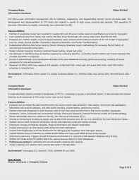 Computer Science Sample Resume by Informatica Administration Sample Resume Haadyaooverbayresort Com