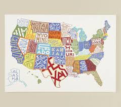 Map Of The United States For Children by About A Boy And His Room Globe Craft And Walls