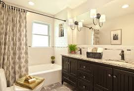 Bathrooms With Shower Curtains Black And White Shower Curtain Bathroom Traditional With Large