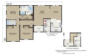 Modular Homes With Basement Floor Plans Floor Plans The Charleston Rm 4003 Manufactured And Modular Homes