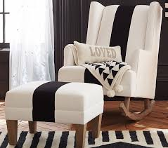 Black Rocking Chair For Nursery Black And White Nursery Insanity Elements Of Style