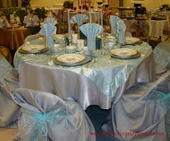 table decorations blue and silver best images