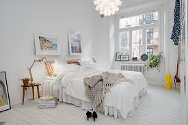 swedish bedroom appealing apartment glorious interior has charisma and individuality