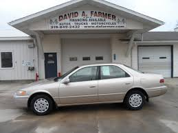1998 toyota camry 1998 toyota camry le 4 door stock 4146 center point ia 52213