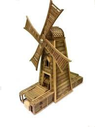 wooden windmills decorative lawn windmill amishshop com