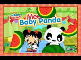 ni hao kai lan meet baby panda