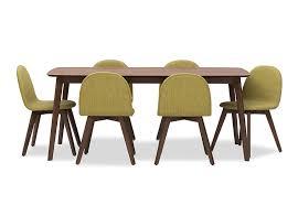 eve 7 piece dining room suite amart furniture