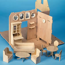 Diy Cardboard Furniture Plans Free by Storybook Cottage Dollhouse Kit