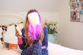 at home light therapy for acne diy with neutrogena light therapy acne mask daily dose of charm