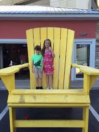 Big Beach Chair Big Adirondack Chair Picture Of Marco U0027s Pizza Panama City Beach