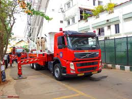 volvo commercial vehicles mumbai fire brigade trucks volvo fm400 u0026 man trucks team bhp