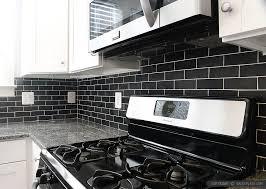 BLACK BACKSPLASH IDEAS Mosaic Subway Tile Backsplashcom - Black backsplash