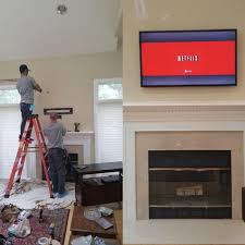 tv wall mount installation reasons to hire a licensed electrician
