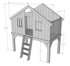 Well House Plans by Treehouse Small Space Design And Unique Woodworking With Tree
