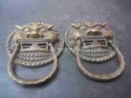 foo dog door knocker large bronze foo dog foo lion door knocker pair ebay