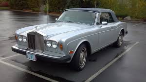 antique rolls royce for sale curbside classic 1982 rolls royce corniche convertible u2013 the