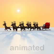 animated santa santa claus 3d models for turbosquid