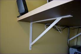 Home Depot Wood Shelves by Interiors Triangle Brackets Furniture Wall Anchors Home Depot
