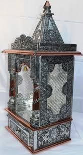 small hindu puja mandir temple 13x10x27 free shipping silver