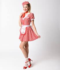 couples costumes s 50 s car hop diner waitress costume size