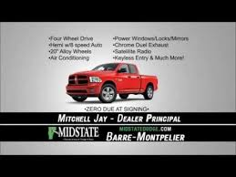 lease deals on dodge ram 1500 ram 1500 4x4 lease deal sale lease deal midstate dodge barre