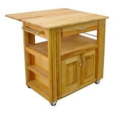 catskill birch wooden kitchen island with drop leaf robert dyas