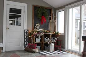 christmas entryway u2013 back to blueberry hill