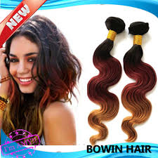 Color Hair Extension by Good Ombre Hair Extension 1b 33 27 3 Tone Color Brazilian Body
