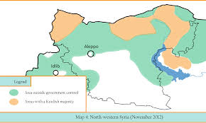 Syria War Map by Aleppo Conflict Timeline 2012 The Aleppo Project