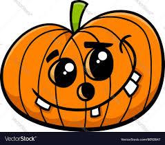 jack halloween pumpkin cartoon royalty free vector image