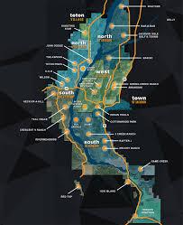 Jackson Hole Map Jackson Hole Real Estate Neighborhood Guide Prugh Real Estate Llc