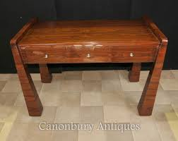 art deco style writing desk rosewood art deco desk 1920s office furniture writing table