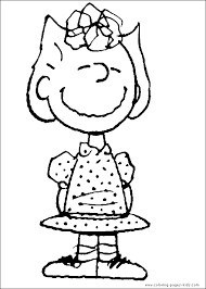 snoopy color coloring pages kids cartoon characters